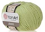 55% Cotton 45% Acrylic YarnArt Jeans Sport Yarn 1 Skein/Ball 50 gr 174 yds (11)
