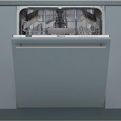 Bauknecht BCIC3C26E Vollintegrierbarer Einbau-Geschirrspüler Spülmaschine Spüler