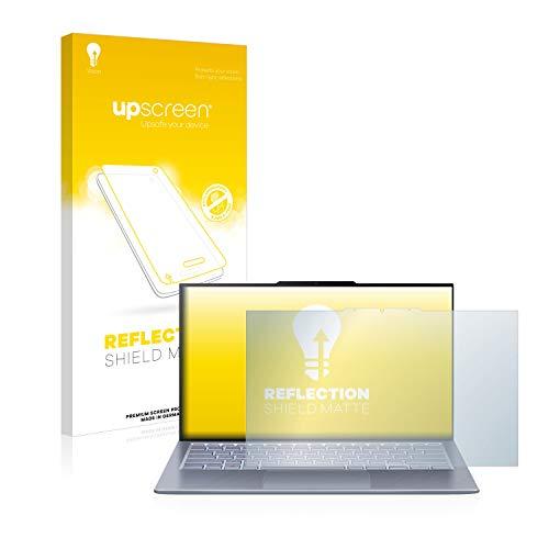 upscreen Entspiegelungs-Schutzfolie kompatibel mit Asus ZenBook S13 UX392FN – Anti-Reflex Bildschirmschutz-Folie Matt