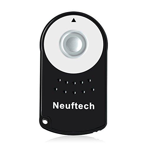 Neuftech Mando Disparador inalámbrico Control remoto a distancia IR para Canon RC-6 600D EOS 5D Mark II / EOS 7D / EOS 550D / EOS 500D / EOS 450D / 60D / 650D / 6D / 100D / 450D / 5D Mark III Digital SLR SLRS
