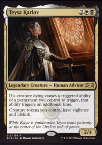 Magic The Gathering - Teysa Karlov (212/259) - Ravnica Allegiance