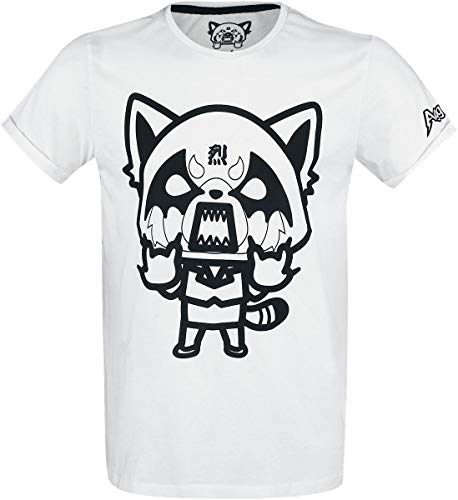 Aggretsuko I Wanna Eat T-Shirt weiß M