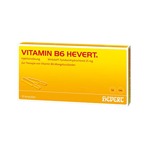 VITAMIN B6 Hevert Ampullen 10X2 ml