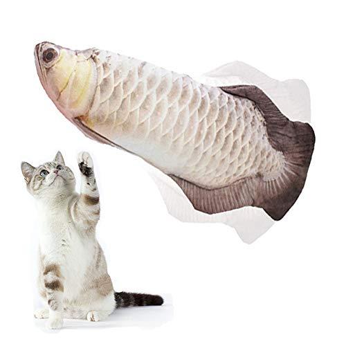 アーモンド 猫 おもちゃ 電動 魚 ぬいぐるみ 猫おもちゃ USB充電式 またたび 猫遊び リアルな動き 電動魚 動く ネコ おもちゃ 噛む ストレス解消 魚おもちゃ 猫 ぬいぐるみ