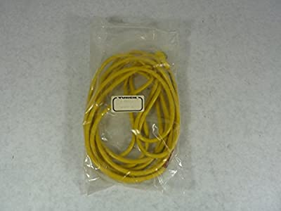 Sensor Cable, Eurofast, Circular 3 Position Receptacle, Free End, 4 m, 13.123 ft by TURCK
