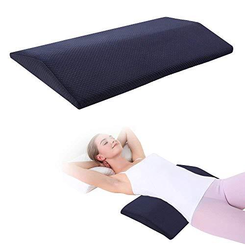 Lumbar Support Pillow for Sleeping,Memory Foam Lumbar Sleeping Bed Pillow for Lower Back...