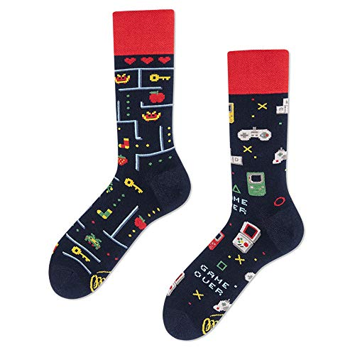 Many Mornings unisex Socken Game Over Regular (39-42)