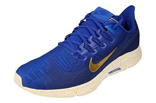 Nike Mujeres Air Zoom Pegasus 36 PRM Running Trainers BQ5403 Sneakers Zapatos (UK 6 US 8.5 EU 40.5, Hyper Blue Deep Royal Blue 400)
