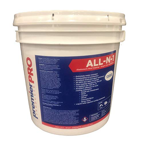 Premier Pro Products All-N-1 Elastomeric Reflective Roof Sealant