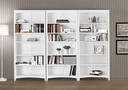 Camaflexi Shaker Style Bookcase, 72