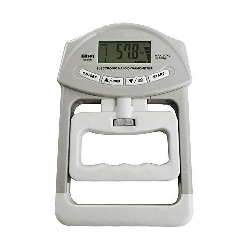 KEISL Elektronisches Zähl-Dynamometer, verstellbarer Griff-Dynamometer, Fitness-Griffring,Fitnesstester, digitales Hand Griffstärke, Messgerät, automatische Erfassung der Handgriff-Power