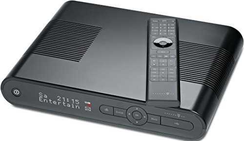 Telekom MR303 Media Receiver 500GB (HDMI, S-Video, Scart, Upscaler 1080i) schwarz