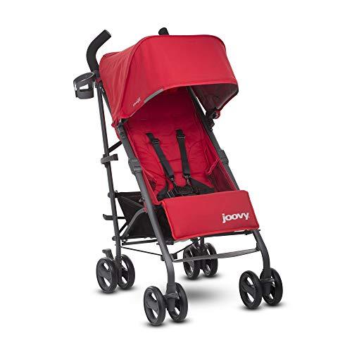 JOOVY New Groove Ultralight Umbrella Stroller, Red