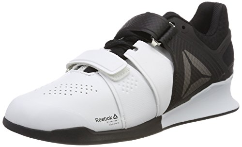 Reebok Men's Legacy Lifter Fitness Shoes, White (000), 11.5 UK