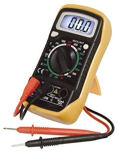 MC POWER - Digital-Multimeter Messgerät | M-730L | DataHold-Funktion, Beleuchtung