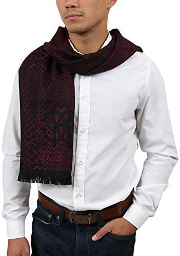 Roberto Cavalli ESZ054 02000 Red Wool Miami Mall S NEW Cheetah Print Blend Mens