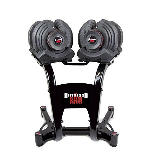 fitnessRAW Haltère réglable 40kg/Adjustable...