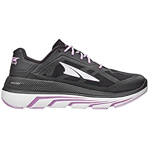 ALTRA Women's Duo Road Running Shoe, Black/Pink - 6 M US