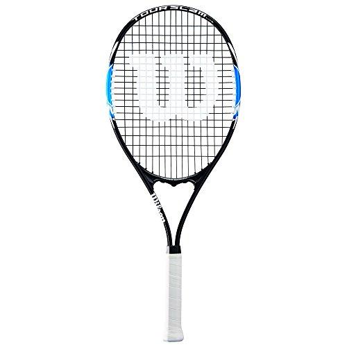 Wilson Raqueta de Tenis Unisex, para Jugadores Principiantes, Tour Slam Lite, Medida 3, Azul/Negro, WRT30230U3