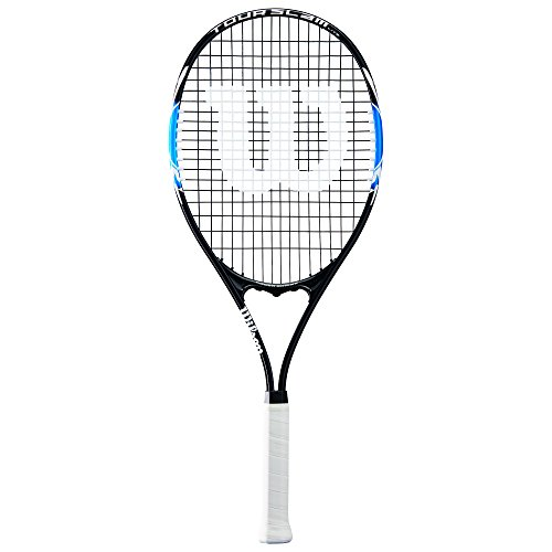 Wilson Tour Slam Lite Tennis Racket, 4 3/8' - Black/Blue