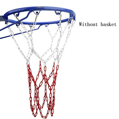 Best Prices! KQHSM Basketball Net Bag Chain Standard Thick and Durable Wear-Resistant Outdoor Metal ...