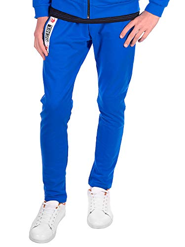 BEZLIT Kinder Jungen Freizeit Sport Trainings Stoff Jogging Sweat Hose 30144 Blau 164