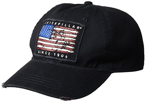 Caterpillar Americana Gorra para hombre, azul marino, talla...