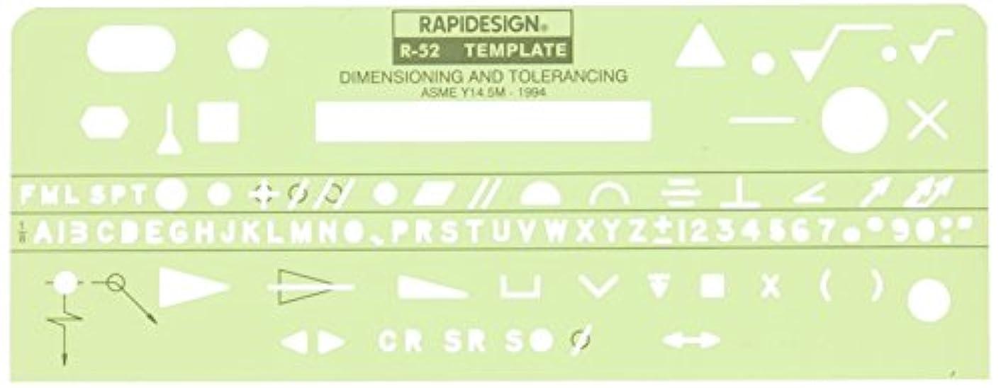 Rapid R52 Dimensioning & Tolerance, 1/8