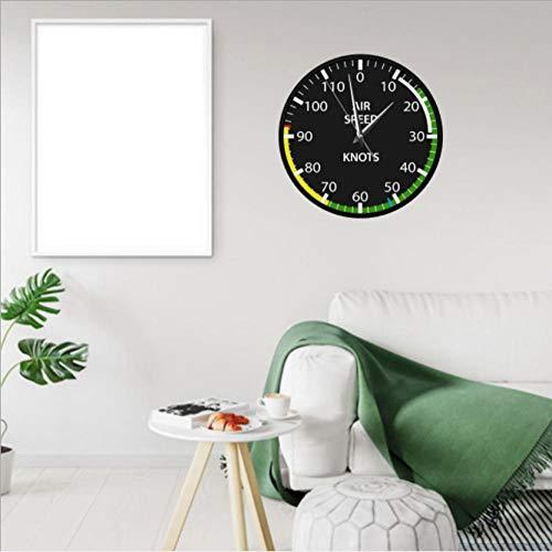 XUEJIAN Mesa de kilómetros Reloj de Pared de Metal exposición de automóviles Reloj de decoración Amazon Reloj Creativo Reloj de Regalo Digital