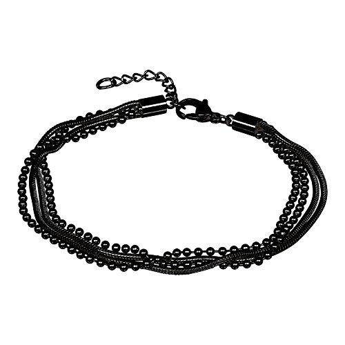 iXXXi Armband SNAKE BALL SLIM schwarz