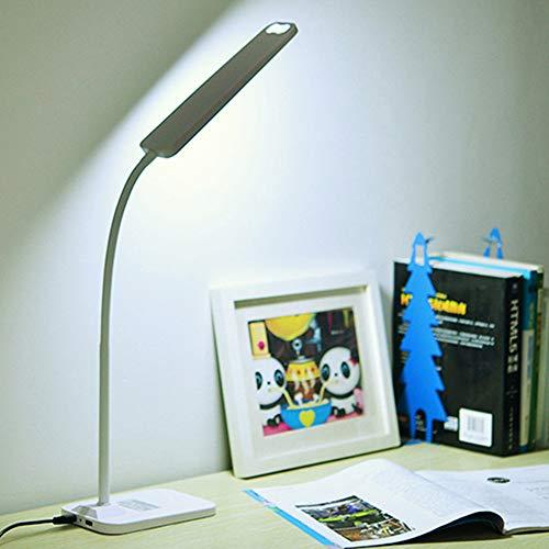 Led Schreibtischlampe, Einfache Leselampe Für Student, Dimmbare Augenpflege Tischlampe Touch Control Für Studie Schlafzimmer Büro Weihnachtsgeschenk