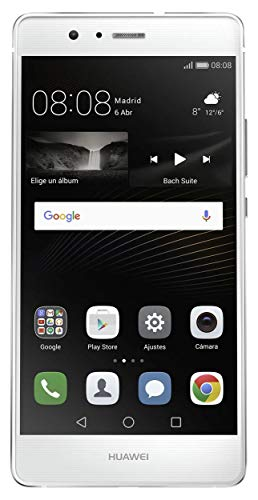 Huawei P9 Lite Smartphone 1 SIM ohne Android 4G, 5,2-Zoll-Bildschirm, Octa-Core, 2 GB RAM, 16 GB, 13 MP Kamera weiß