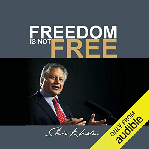 Freedom Is Not Free audiobook cover art