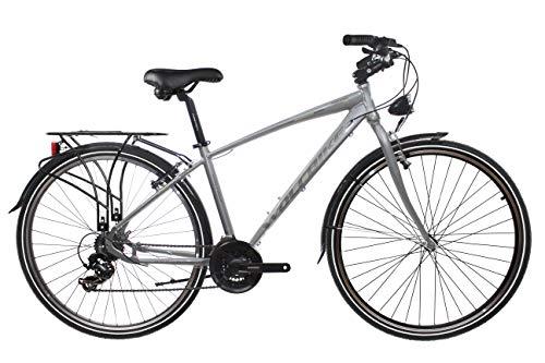 Wolfbike Trekking H700 21V Gris T19 Bicicleta