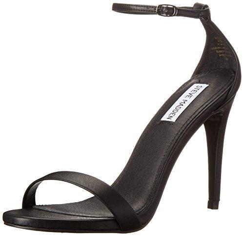 Steve Madden Stecy, Scarpe Col Tacco con Cinturino alla Caviglia Donna, Nero, 36 EU