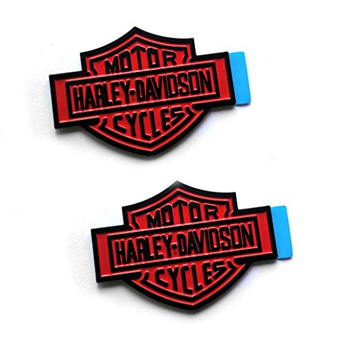 harley tank emblem chrome - 5