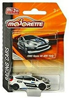 New DIECAST Toys CAR MAJORETTE 1:64 Racing Cars - Ford Fiesta RS WRC Rally (White) - MIJO Exclusives 4009MJ5
