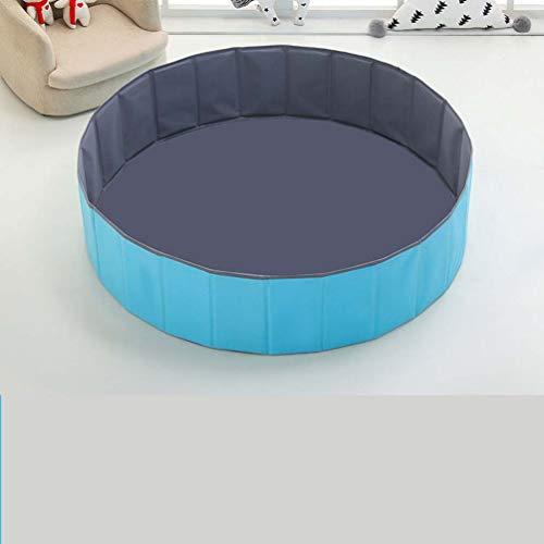 Shuang Piscina de Bolas,Piscina de Bolas de Bolas de océano para niños, Valla de Juego Plegable/Carpa de Bobo de Interior para bebés/Juguetes de Bolas de bebé(XXL, Blue)