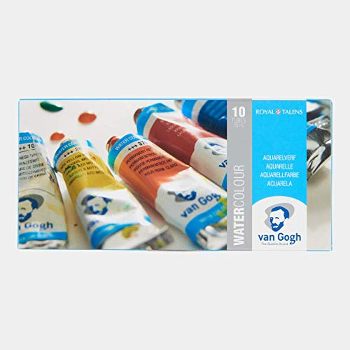 Van Gogh Watercolor Paint Set, 10x10ml Tube Set