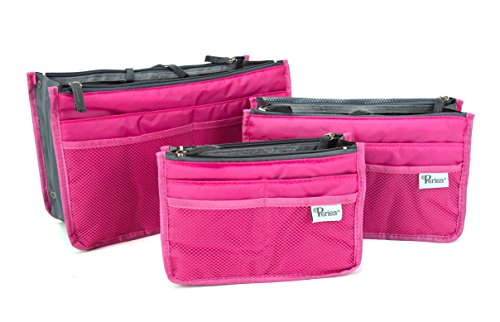 Periea - Pack of 3 Handbag Organisers - Chelsy (Small, Medium and Large) -...