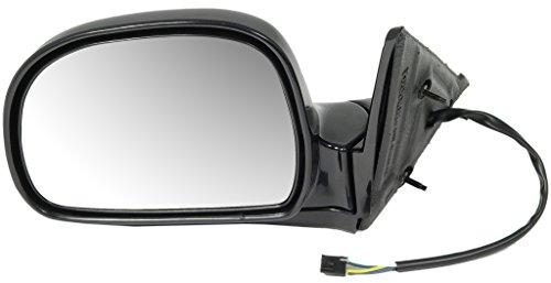Dorman 955-301 Driver Side Power Door Mirror - Folding for Select Models, Black