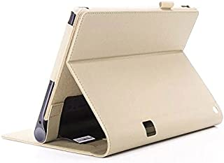 [M&Y]YOGA Tab 3 Plus ケース 手帳型 レノボ ヨガ タブ 3 プラス カバー Lenovo YOGA Tab 3 Plusタブレットケース 【全6色】MY-TAB3P-LZ-70210 (ゴールド)