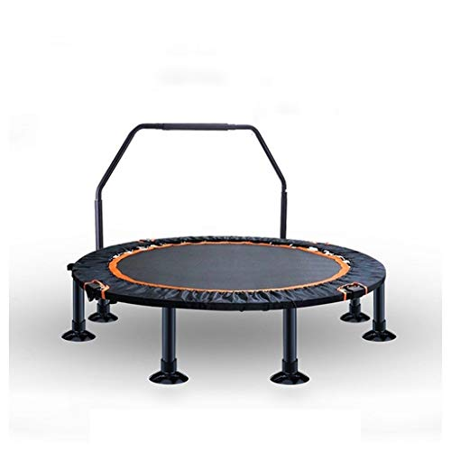 OFFA Trampoline 50' Foldable Trampolines, Fitness Rebounder With Adjustable Handle, Exercise Trampette For Kids Adults Indoor/Outdoor Workout Jumping,Best Home Gym For Fitness Lose Weight