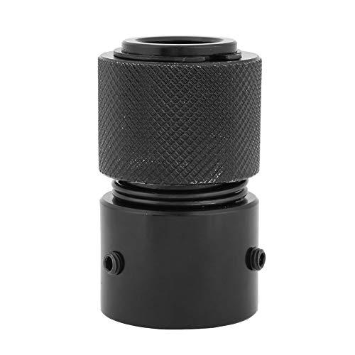 Cincel de aire de acoplamiento de liberación rápida, portabrocas rápido de retención de martillo neumático para martillo neumático 150190250 Rendimiento estable negro