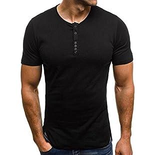 KPILP Men's Long-Sleeved Shirt Autumn Long Coat Warm Clothing Checkered Shirt(C-Blue,Medium):Firmwarerom