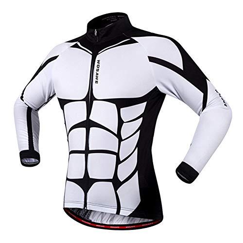 Veste Vélo, Respirante Vêtements De Cyclisme pour L'été, Détails Réfléchissants - pour Vélo, Courir, Travelling,S