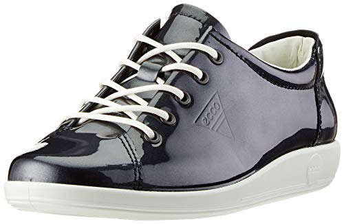 ECCO Damen Soft 2.0 Sneaker, Schwarz (Night Sky 1303), 41 EU