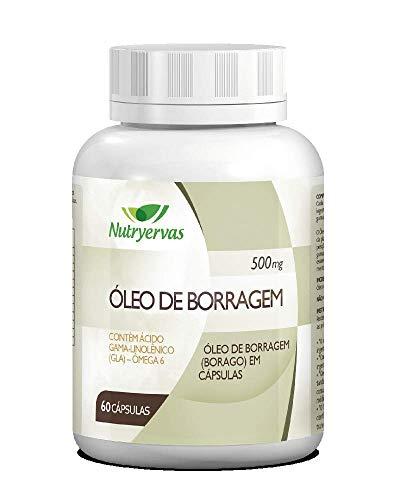 ÓLEO DE BORRAGEM NUTRYERVAS 60 CÁPSULAS
