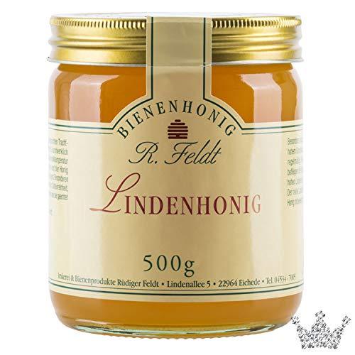 Linden BIO Honig, kräftig, frisch, sommerlich, 500g