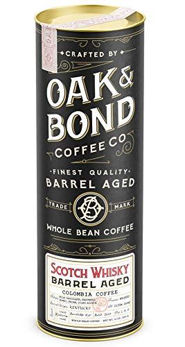 Scotch Whisky Barrel Aged Coffee - Whole Bean Coffee,...